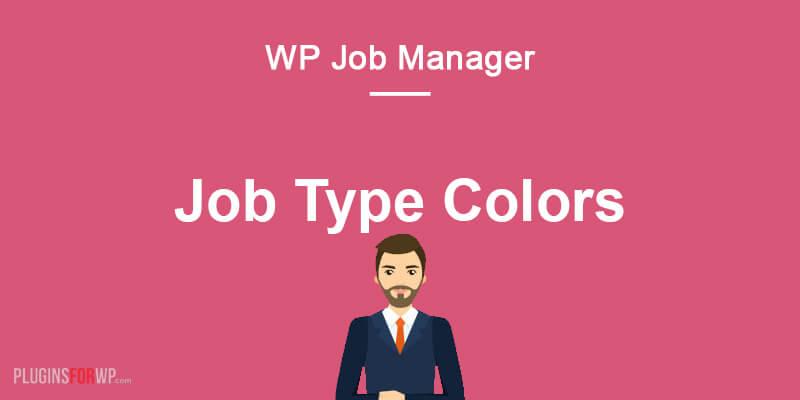 WP Job Manager – Job Type Colors