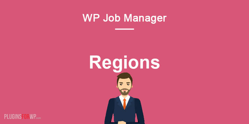 Regions for WP Job Manager