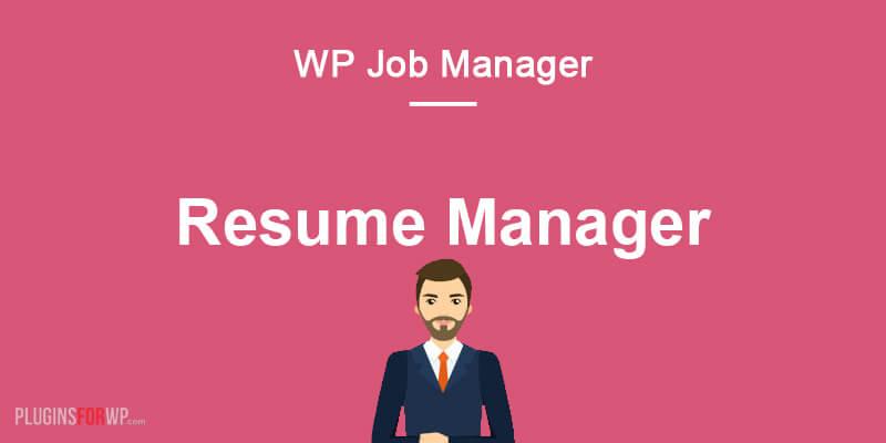 WP Job Manager – Resume Manager