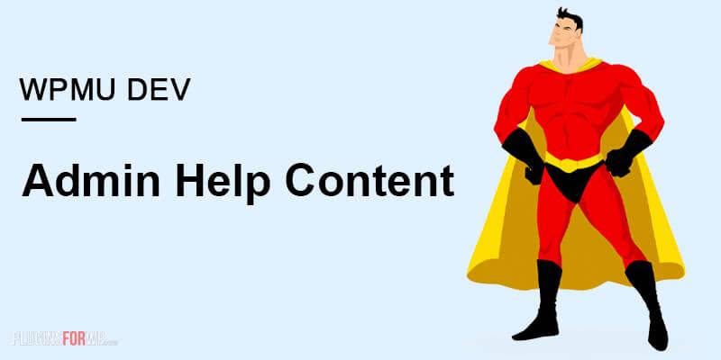 Admin Help Content