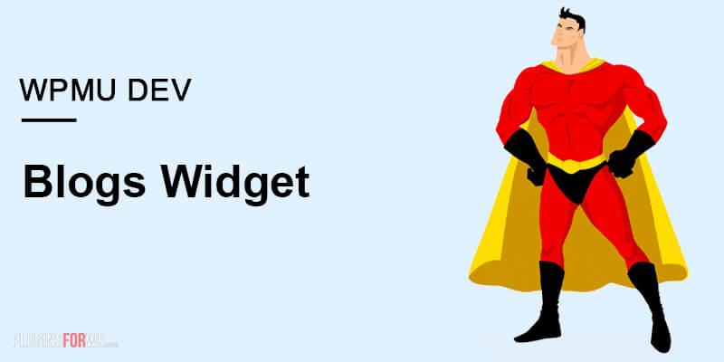 Blogs Widget