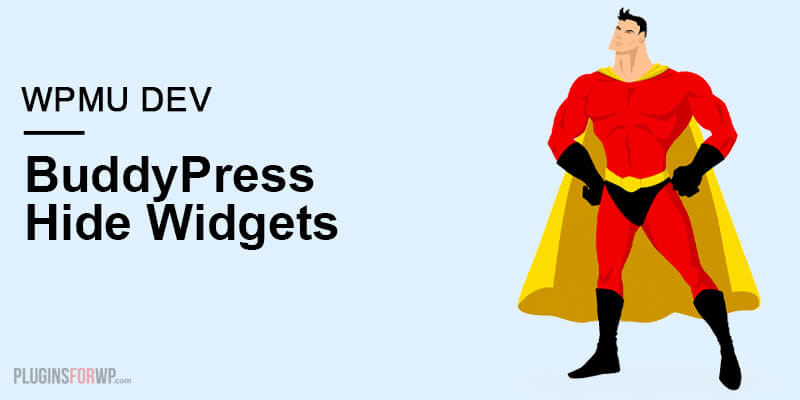 BuddyPress Hide Widgets