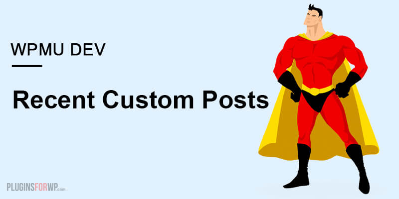 Recent Custom Posts Type Widget