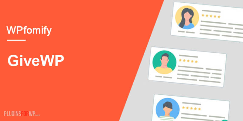 WPfomify – Give Add-on