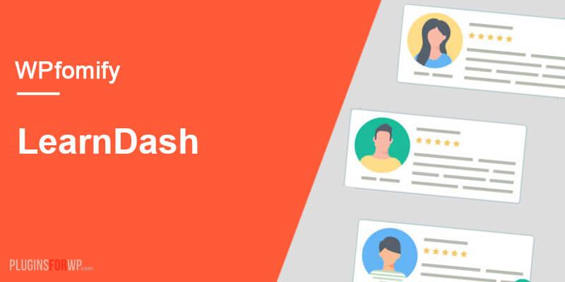 WPfomify – LearnDash Add-on