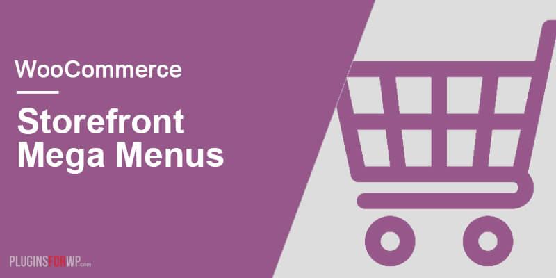 Storefront Mega Menus