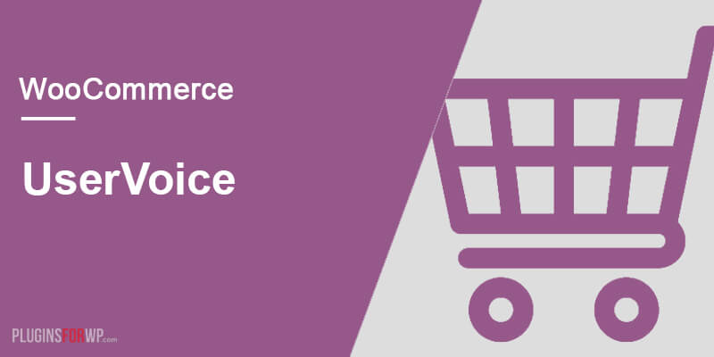 WooCommerce UserVoice Integration