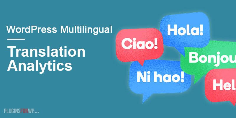 WPML Translation Analytics