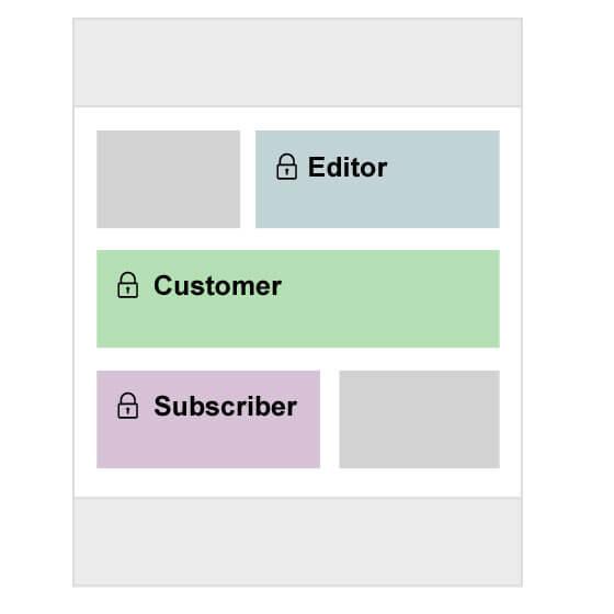 Builder Content Restriction