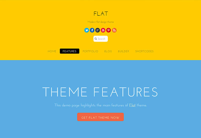 Themify Flat
