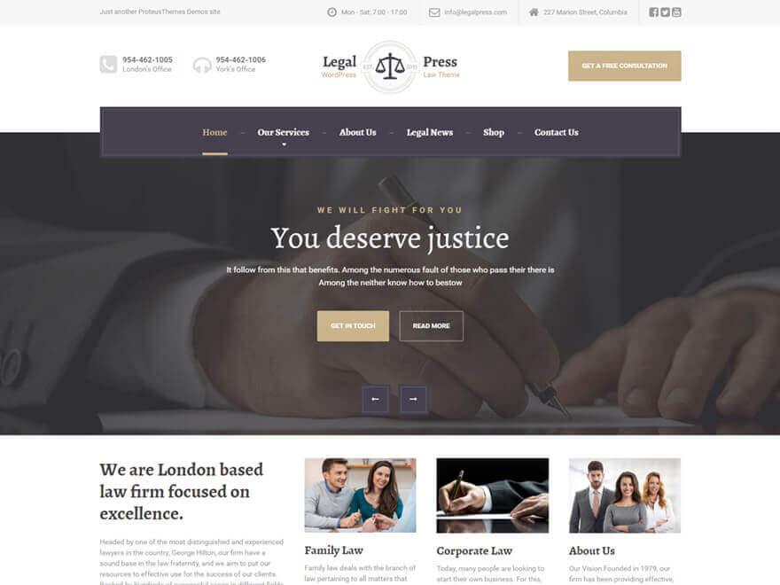 LegalPress PT