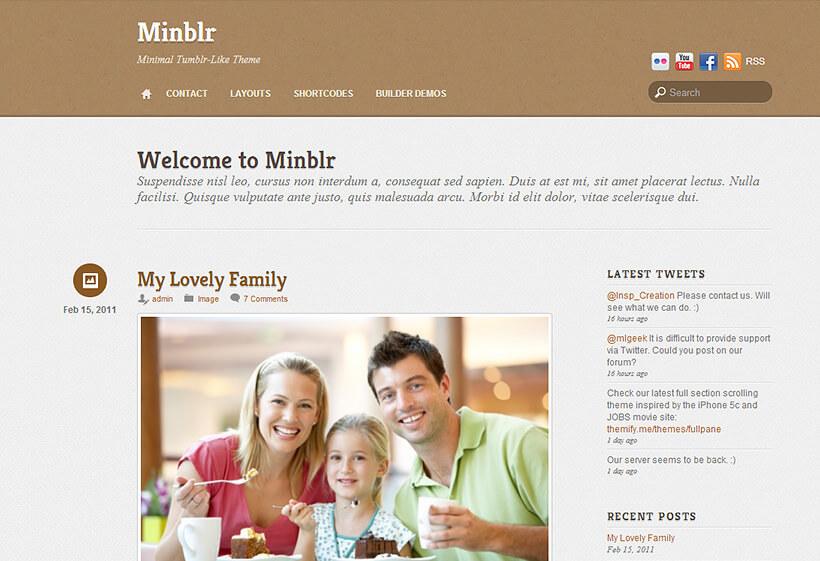 Themify Minblr