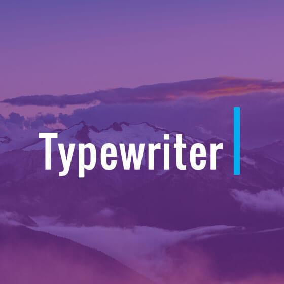 Builder Typewriter