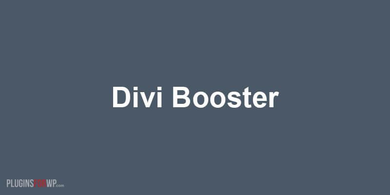 Divi Booster