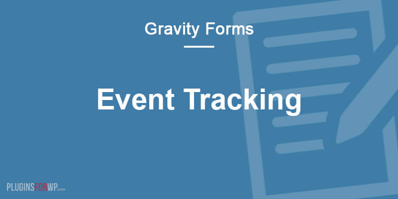 Gravity Forms Event Tracking