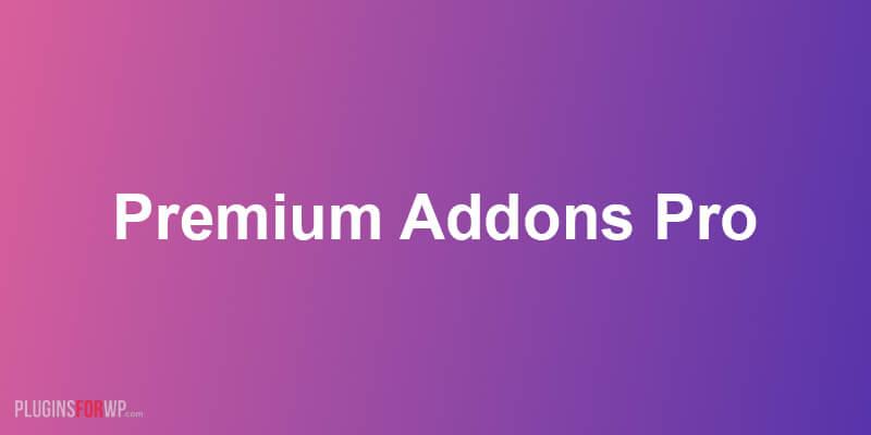 Premium Addons PRO